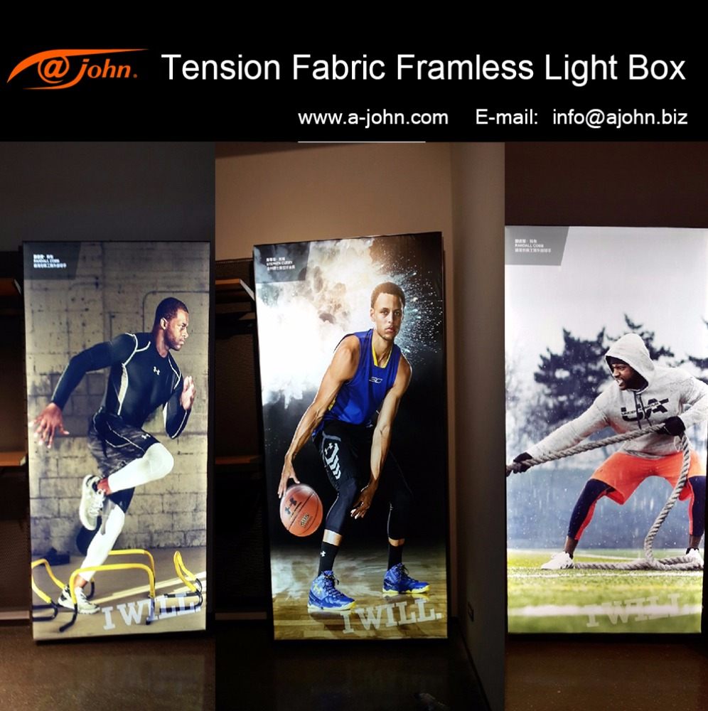 AJOHN Real estate picture framing lighting system display light box