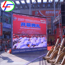 good price led rental cabinet display P6 led display module