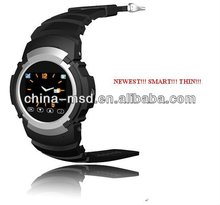 2012 cool design touch screen watch cell phone support muti-language