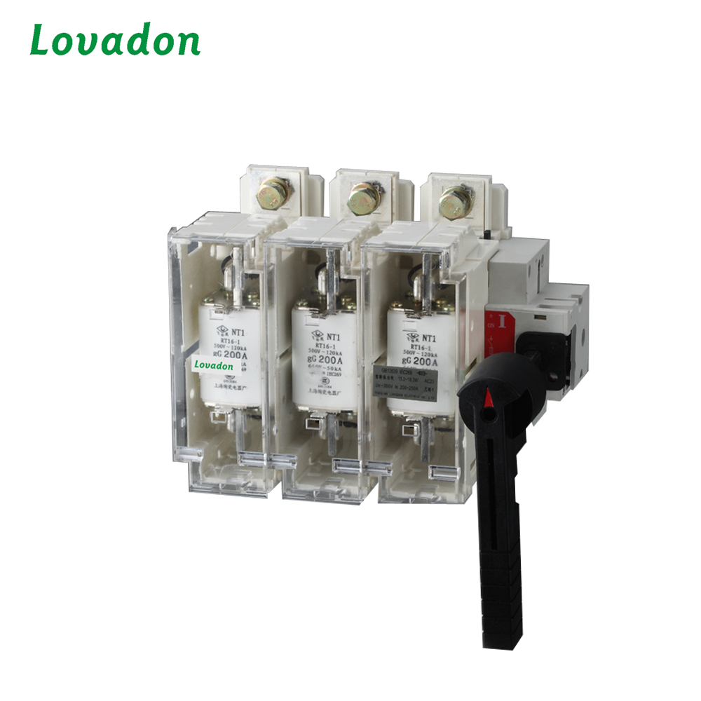 Hglr Series 160A 380V 4p Load Isolation Switch break Isolation switch