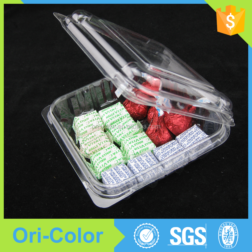 Plastic dry fruit food packaging boxes