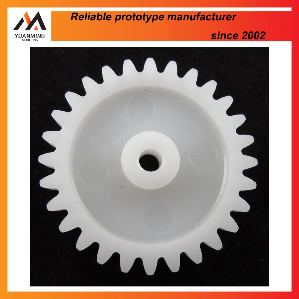 plastic gear injection moulding rapid prototyping china supplier