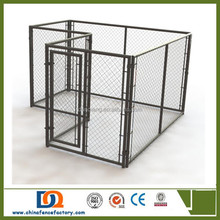 New design unique galvanized steel cheap large dog kennel