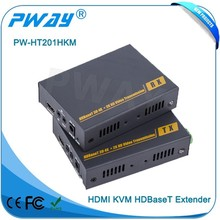 Pinwei PW-HT201HKM OEM ODM HDMI 1.4 HDCP 1.2 100m HDMI Extender Over Single Cat5e/6 Cable