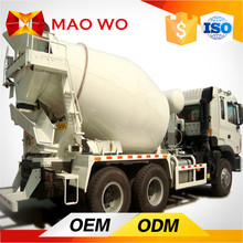 8 cubic meters used mini mercedes concrete truck mixer for sale