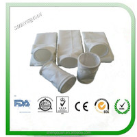 Strong acid and alkali resistant pps filter fabric for power plant dust collector/industry filter fabric for dust collection bag