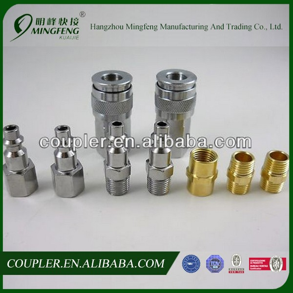 "9pc 1/4"" NPT Quick Coupler Disconnect Set Air Hose Connector Fittings Industrial"