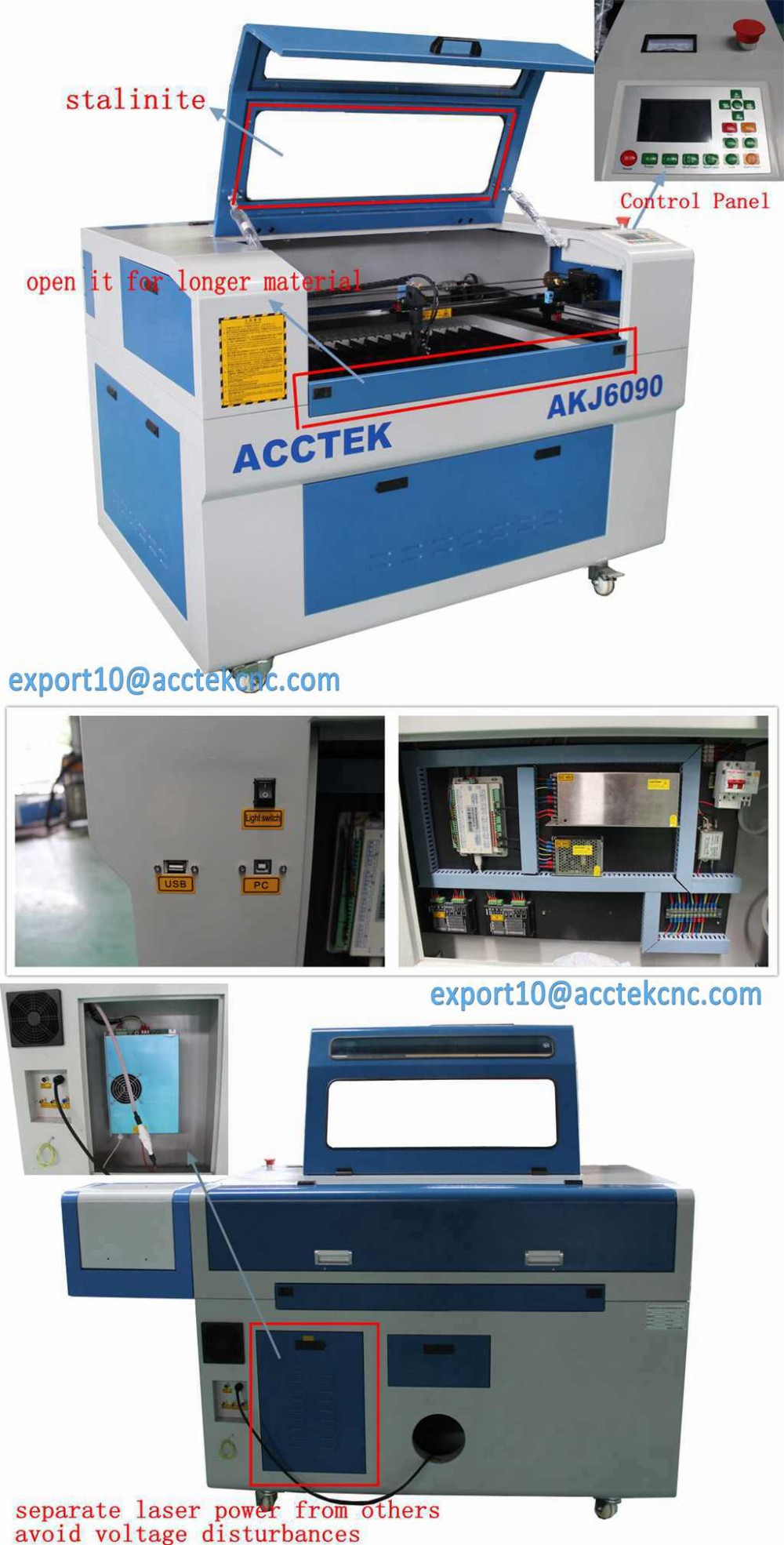 3.Acctek AKJ6090 2016 Hot salemini CO2 laser engraving machine factory price machine details.jpg