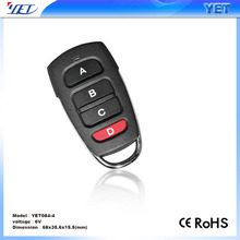 High Quality garage door/barrier rolling code remote control YET084