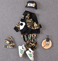 2016 new arrival baby boys autumn outfits boys Camouflage clothing