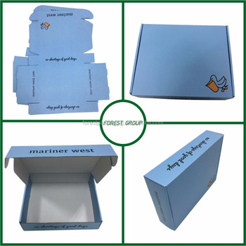 FSC Certificate Custom Design Packaging Box With Flat Packing