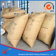 Kraft Paper/PP Woven Container dunnage air bag with inflated valve