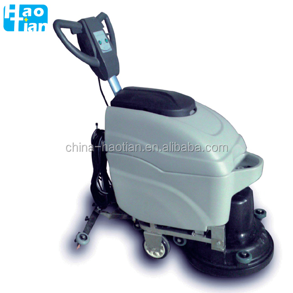 XD2A floor cleaning machine electric walk behind scrubber with Cable