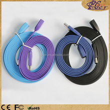 New flat-type design multicolour USB 2.0 extension cable