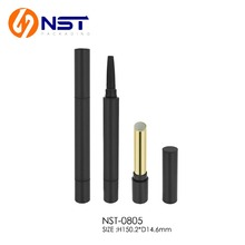 Eyebrow pencil lipstick tube two functional cosmetic packaging in 2017