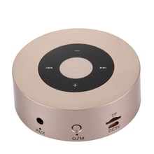 Hot sale touching operation outdoor A8 mini stereo portable wireless bluetooth led speaker
