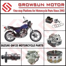 Suz. GN125 Motorcycle parts, cylinder kit, cylinder head comp, clutch