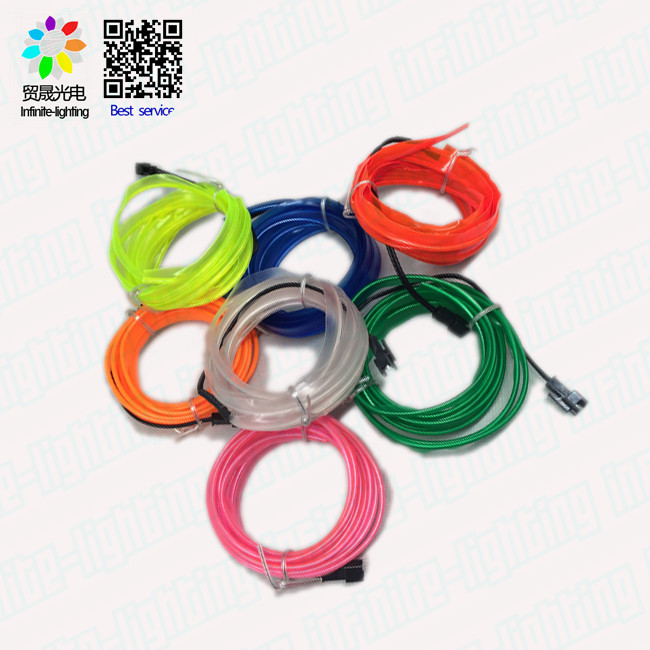 High brightness flat el wire for car decoration/ Costumes EL Light Wire