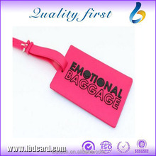 Latest Product Of China Cheap Luggage Tag Luggage Tag Wire Standard Size PVC Luggage Tag Factory