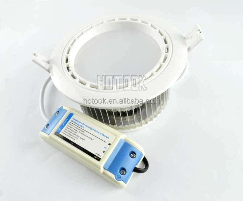 2.4G Mi-light 12W RGBW LED Dimmable Ceiling Downlight