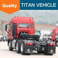 Low price Tractor head 371HP 6x4 Sinotruk HOWO tractor truck for sale