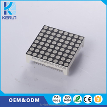 38mmx38mm P4.75 LED module RGB full color 8x8 indoor led dot matrix display module