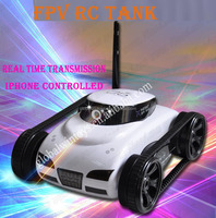 Iphone/Ipad RC Toys RC Tank 3G Wifi Spy Tank for Android with Camera 30W Pixel Camera And Real Time Transmission Video