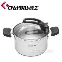 Charms Hot Sale Stainless Steel commercial soup pots
