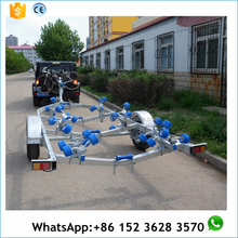 CE certificate approved aluminum boat trailer frame for sale