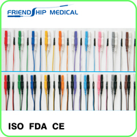Disposable sterile Subdermal needle electrodes(Parallel,Multicolor)