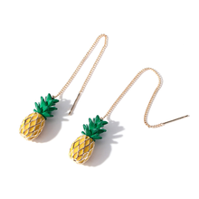 Factory Supply Fashion Tiny Pineapple Earrings