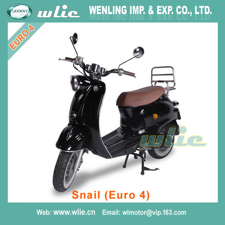 Best selling mini gas motor scooter minarelli am6 engine 50cc manual Euro 4 EEC COC Scooter Snail (Euro4)