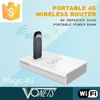 wireless access point portable wifi repeater with power bank