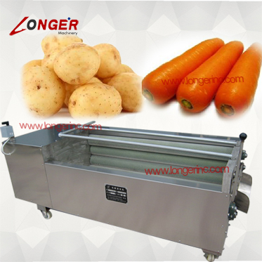 Cheap carrot washing machine for restaurant