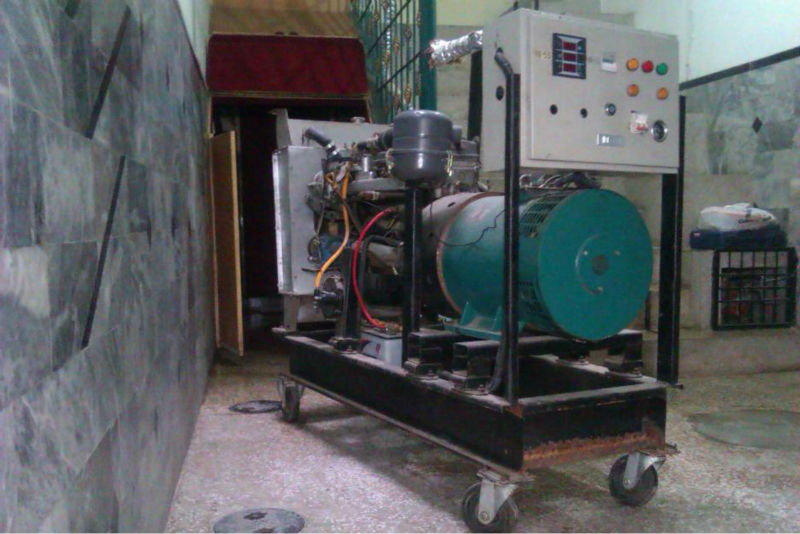 Used 18 kva, Toyota Gas Generator for sale