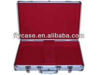 high quality mini aluminum mahjong set storage aluminum case for playing game