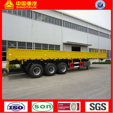three axles cargo and container semi-trailer, truck trailer for container
