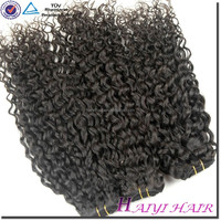 "28"" double weft 7A Virgin Brazilian 7A Human Hair weftBrazilian 7A Human Hair drawstring ponytail"