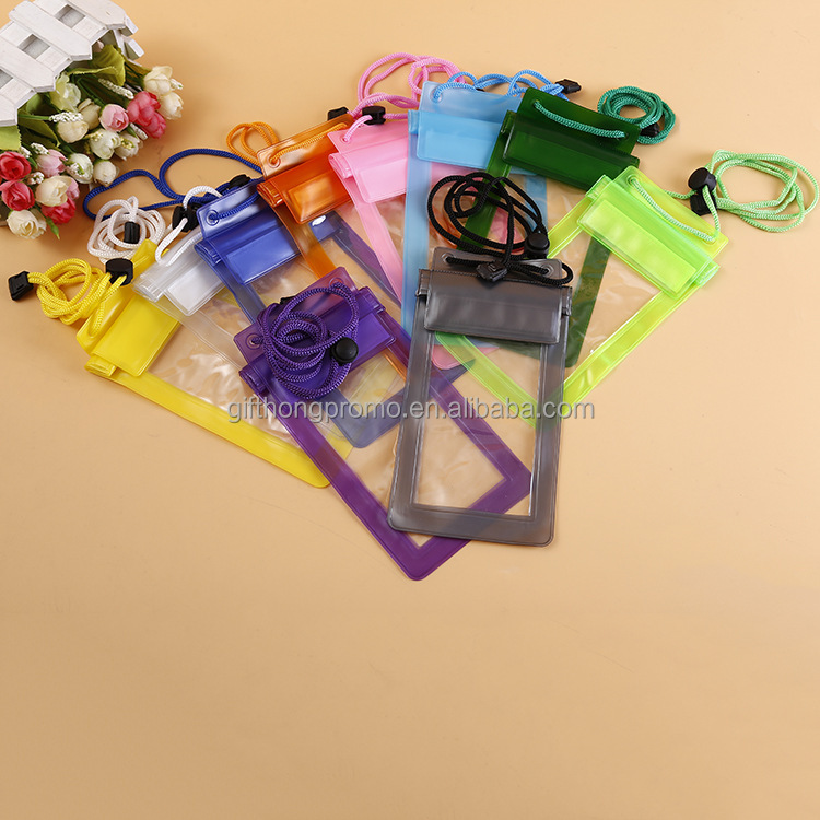 Certified quality mobile phone waterproof bag