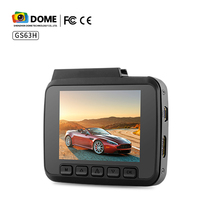 4k vehicle dash camera with 2.4inch LCD built in GPS WIFI car DVR