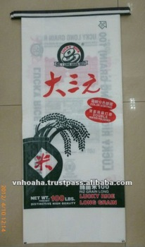 rice bag BOPP laminated