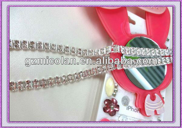 Jewelry Diamante Bra Strap,Decorative Underwear Garment Accessories