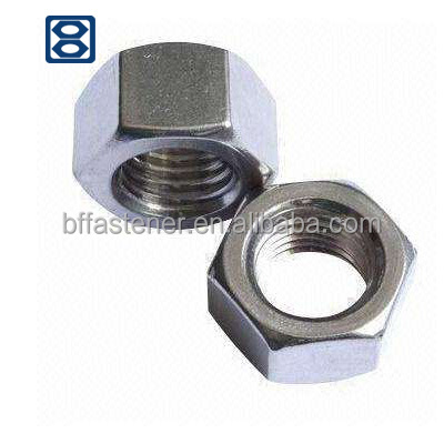 Yellow Hex Nut Carbon Steel/Stainless Steel DIN934