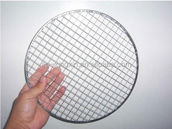 round barbecue gas grill wire <strong>mesh</strong>