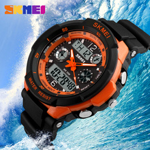 Popular sports led shock watches shock resist strongable case