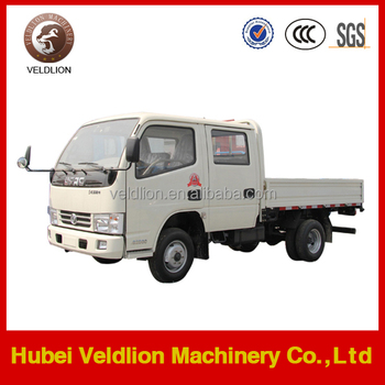 Dongfeng 4x2 3 TON cargo truck with double cabin