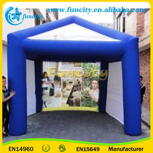 39L*26W Foot Big Inflatable Trade Show Tent
