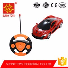 modern design high speed musical 4CH 1 14 scale rc cars with led light