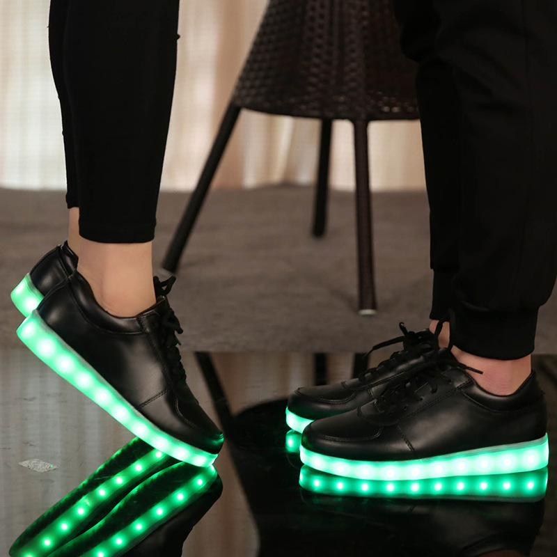 2017 new led light up dance adult shoes with lights telecontrol remote control LED shoes led light up shoes