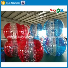 giant inflatable human bubble ball walk in plastic bubble ball bumper football ball